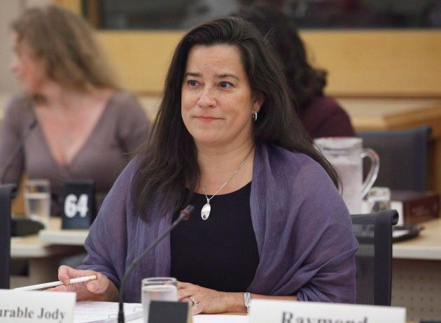 Jody Wilson-Raybould appears at the Senate legal and constitutional affairs committee on June 20,