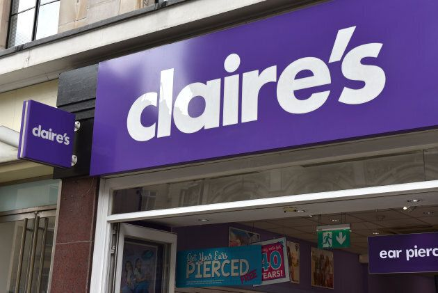 Claire's has said it will review its ear-piercing