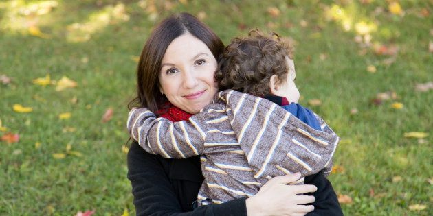 Natalie Stechyson and her son, who is loved more than anything but may be