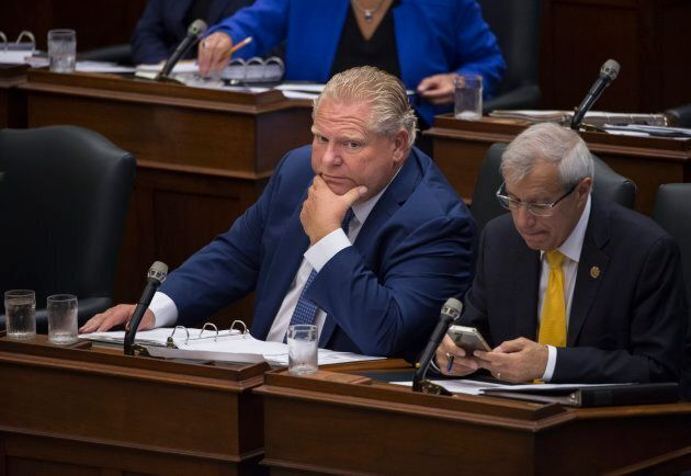Ontario Premier Doug Ford on Sept. 17,