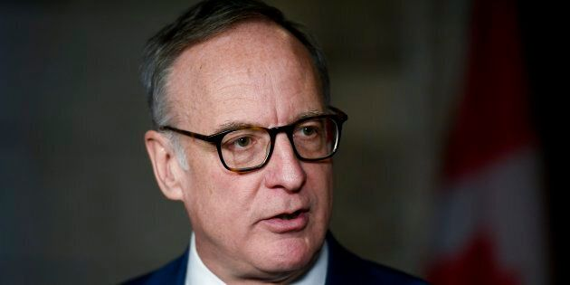 Liberal MP Rob Oliphant participates in a press conference in the foyer of the House of Commons in Ottawa...