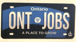 Ford Government Unveils New Blue Ontario Licence Plate, Trillium