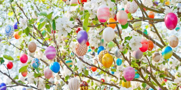 Easter trees are a charming, centuries-old German