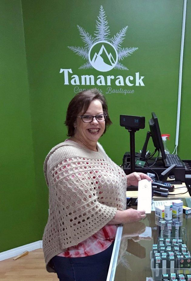 Cindi Phelps, manager of the Tamarack Cannabis Boutique in Kimberley, B.C., never imagined herself running...