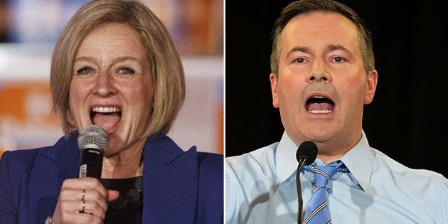 Alberta NDP Leader Rachel Notley and United Conservative Party Leader Jason Kenney will have a final...