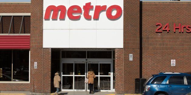 A Metro grocery store is photographed in Kingston, Ont. on Apr. 11,
