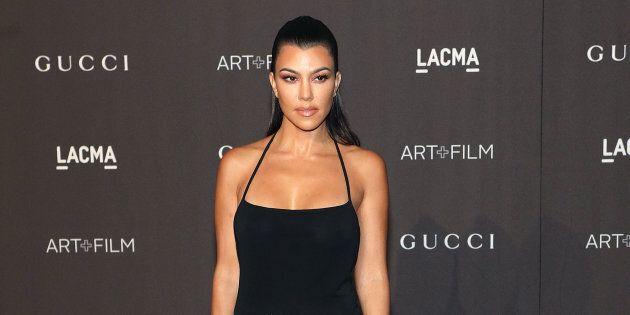 Kourtney Kardashian attends the 2018 LACMA Art+Film Gala at LACMA on November 3, 2018 in Los Angeles,