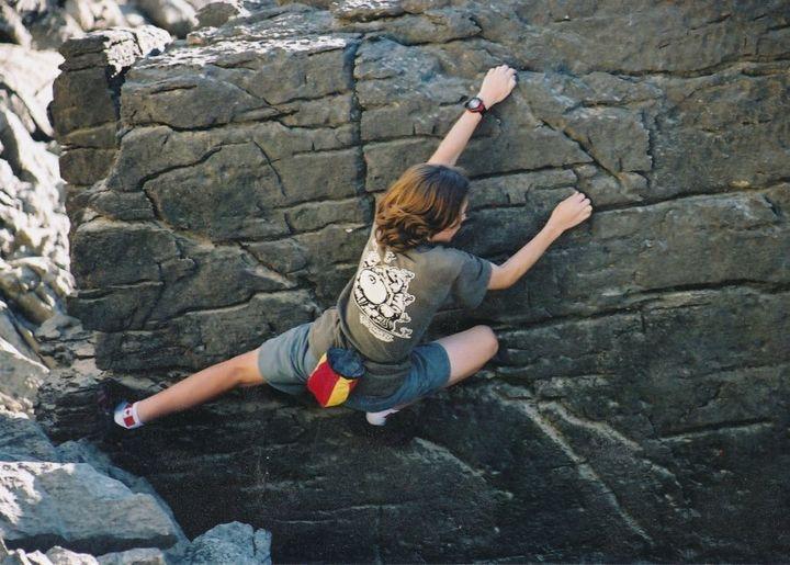 Ian MacNairn on summer vacation in Jasper, Alta. around 2000.