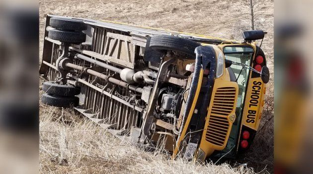 A school bus driver was charged last week with careless driver after the vehicle rolled over east of...