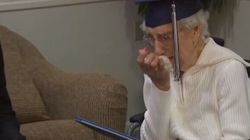 Margaret Bekema Gets Her Diploma, 79 Years After Leaving