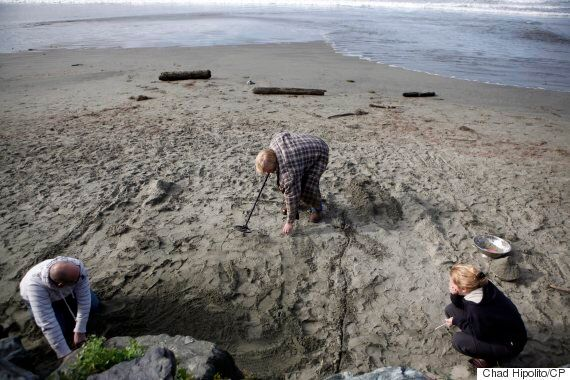 Darrin Reimer, Calgary Man, Nearly Loses Ring In Sand After B.C. Beach