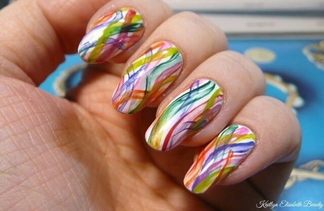 #ManiMonday: A Rainbow Nail Art Design That's Perfect For