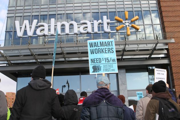 Walmart Raises U.S. Wages Because 'Competition For Talent Is