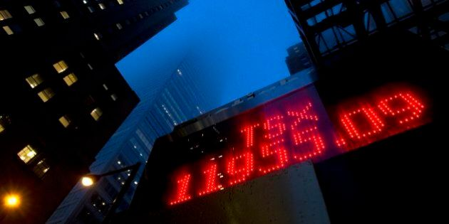 TSX Posts Triple-Digit Loss Amid 'Lost Decade' For Canadian