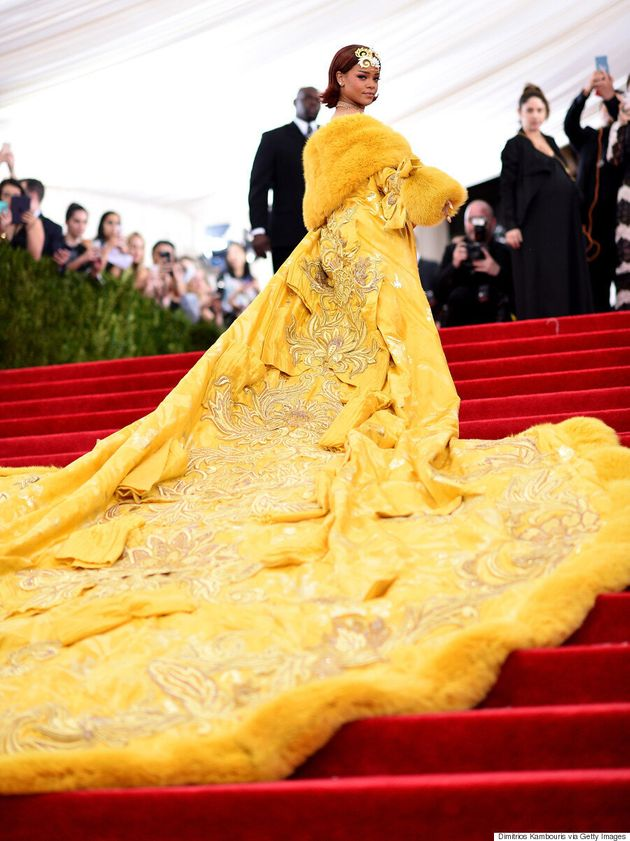 Rihanna's Met Gala 2015 Cape Is Fit For An