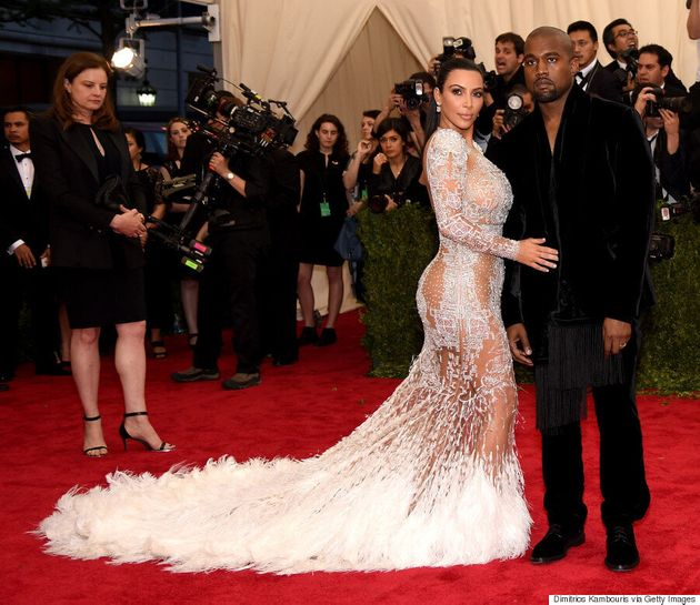 Kim Kardashian's Met Gala 2015 Dress Looks