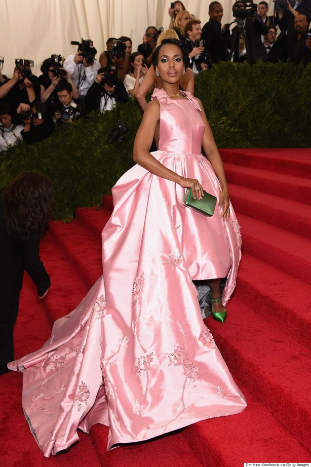 Kerry Washington's Met Gala 2015 Dress Is Fit For A