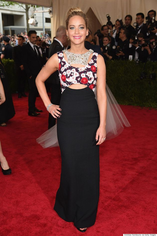 Jennifer Lawrence's Met Gala 2015 Dress Is Simple, But