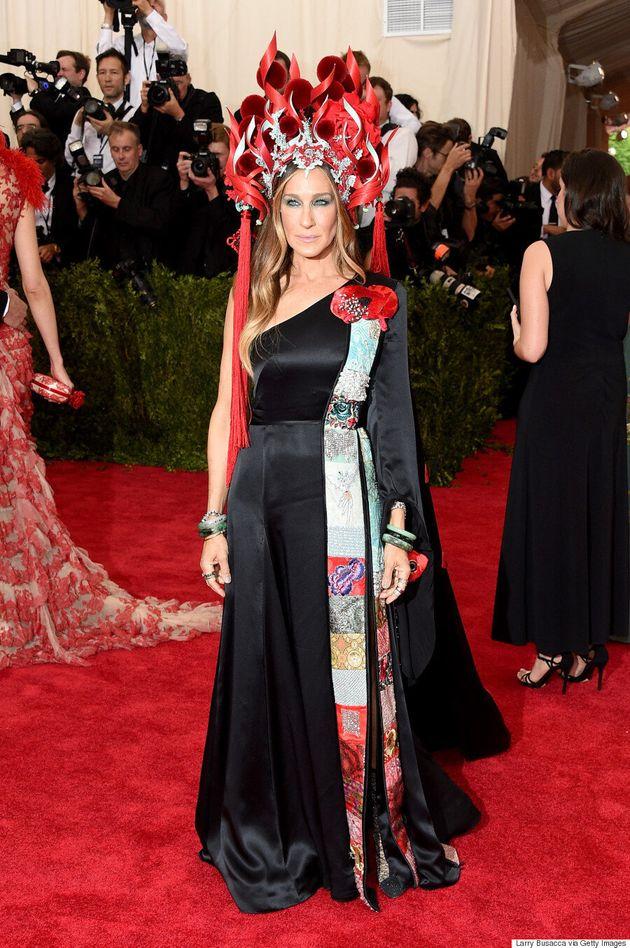 Sarah Jessica Parker's Met Gala 2015 Dress Will Definitely Get People