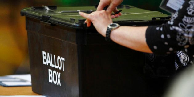 File photo dated 28/02/13 of a ballot box being opened, as a parliamentary committee has said that the...