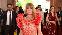 Anna Wintour Goes Full-On Floral At The Met