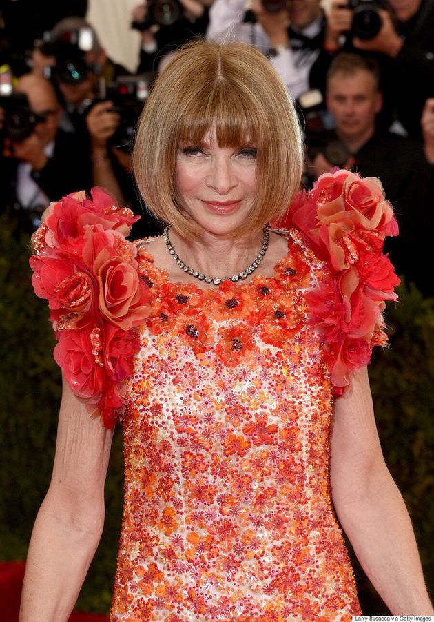 Anna Wintour's Met Gala 2015 Dress Is One To Be