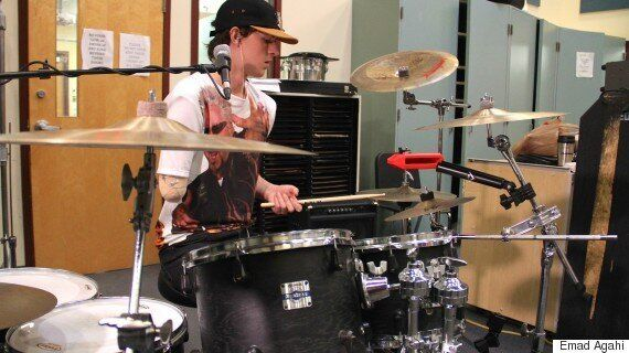 Jack Thomas, B.C. Drummer, Loses Arm But Doesn't Skip A