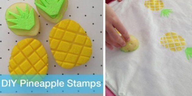 DIY Stamps: 20 Fun Ways To Stamp With Stuff In Your