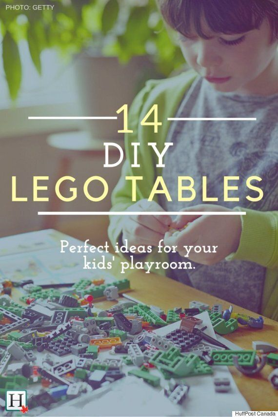 Lego Table: 14 DIY Ideas For Your Kids\' Playroom | HuffPost ...