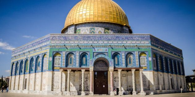 Dome of the rock at Temple Mount in
