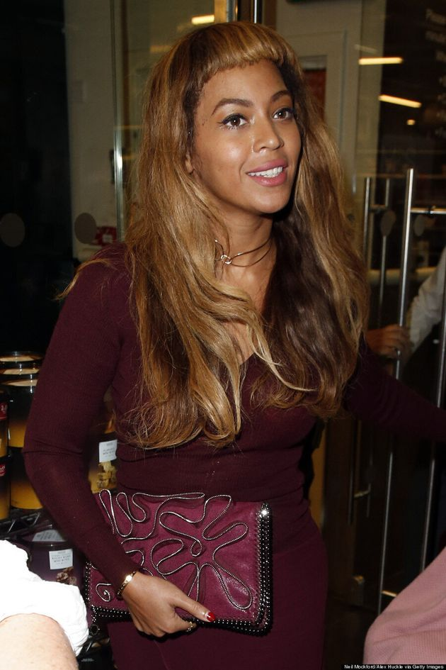 Beyonce Debuts New Blunt Bangs In Paris