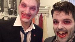 LOOK: Harper, Trudeau Halloween Costumes Dominate Social