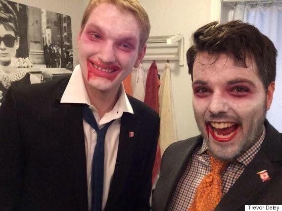 Stephen Harper, Justin Trudeau Halloween Costumes: Canadians