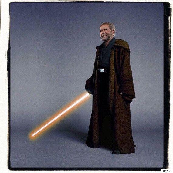 Jedi Thomas Mulcair Wishes You A Happy Star Wars