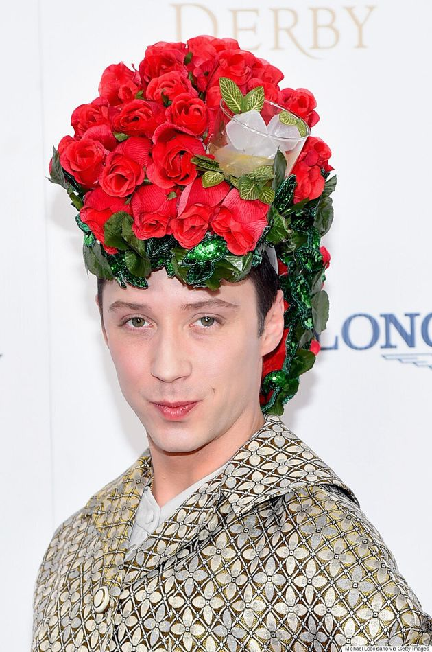 Johnny Weir Killed The Hat Game At The Kentucky