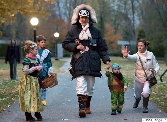 Justin Trudeau And Family Get All Dressed Up For