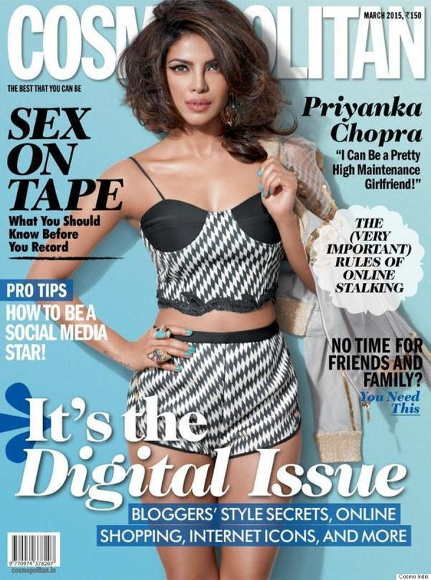 Priyanka Chopra Is A Total Bombshell On The Cover Of Cosmopolitan