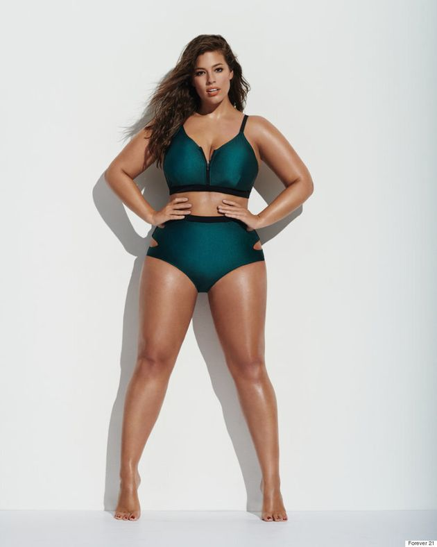 Ashley Graham Is The Face Of Forever 21's Spring 2016 Plus-Size