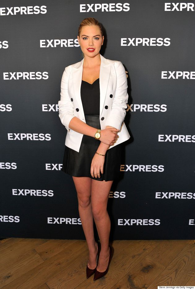 Kate Upton Proves Black And White Never Go Out Of