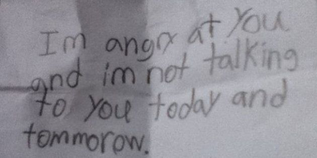 Funny Kids Notes: These Angry Letters Would Hurt If They Weren't So