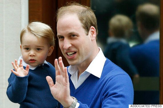 Prince George Meets His Baby Sister At The Hospital