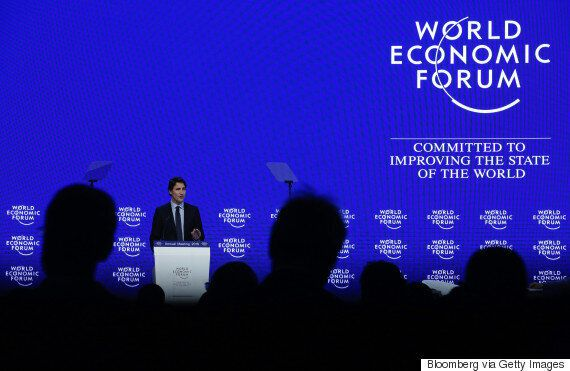 Trudeau Drops Humblebrag About University Of Waterloo In Davos