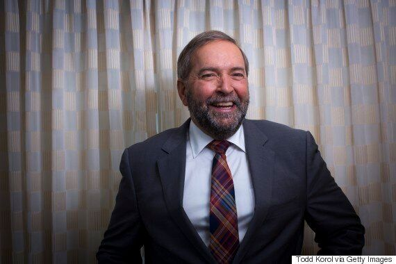 Thomas Mulcair Says Age Won't Keep Him From Taking On Trudeau In