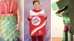 25 DIY Halloween Costumes Made From A Cardboard