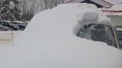 Ontario Police Bust 80-Year-Old Man Driving This Snow-Covered