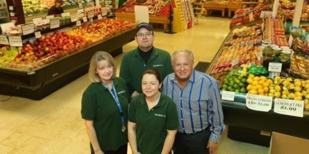 Frank Budwey, Supermarket Owner, Surprises Employees with Part Ownership Of