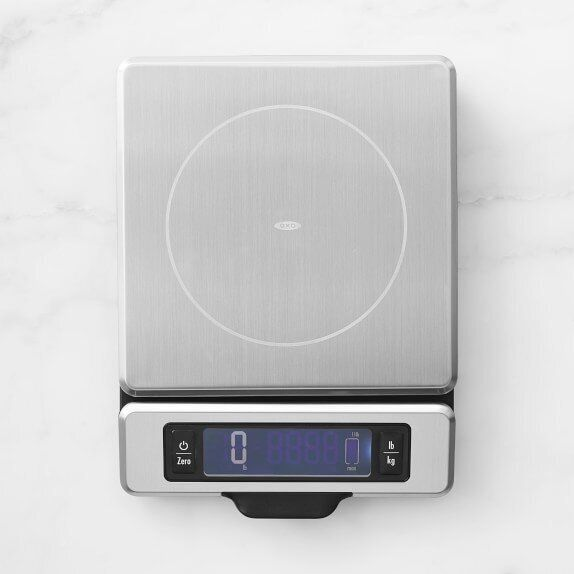 Dominique Ansel recommends you find a kitchen scale that measures not just in ounces, but in grams for...