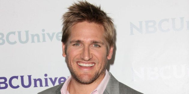 PASADENA, CA - APRIL 18: Chef/TV Personality Curtis Stone arrives at the NBCUniversal summer press day...