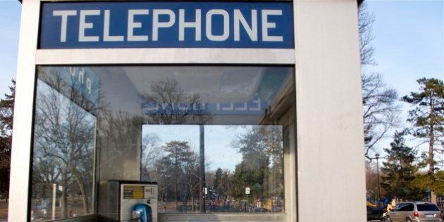 Coalmont, B.C. Loses Its Only Public Phone To Bizarre