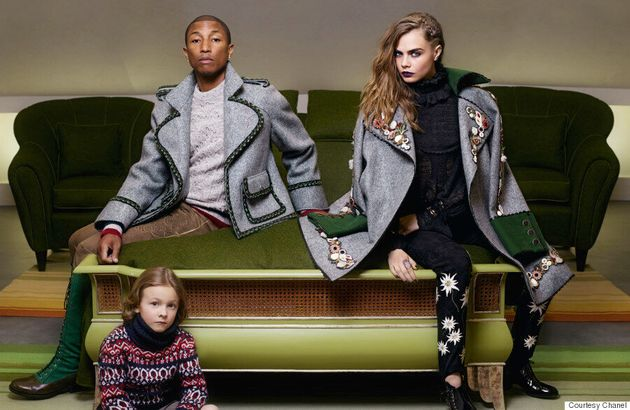 Cara Delevingne And Pharrell Williams Team Up For New Chanel